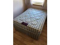 Double Divan Bed & Ortho Mattress