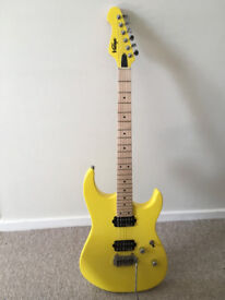 Vintage V6M24 Reissued Series Electric Guitar - Daytona Yellow - 'New other'
