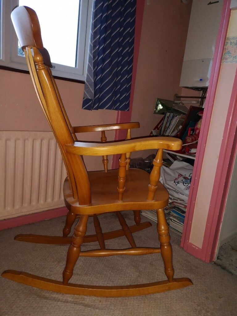 Excellent Rocking Chair Traditional Pine Country Cottage Style In Keynsham Bristol Gumtree Onthecornerstone Fun Painted Chair Ideas Images Onthecornerstoneorg