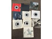 The jam Paul Weller style council vinyl job lot