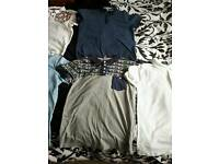 SIZE SMALL SELECTION OF MEN'S POLO TOPS