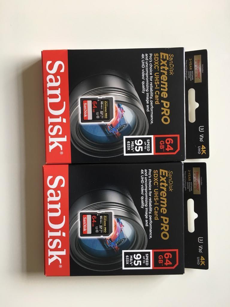 Harga Dan Spek Sandisk Extrempro 64gb Terbaru 2018 Drill Mata Bor Hss Nachi Bukan Guhring Juga Guehring 7mm Extreme Pro Uhs I U3 In Warley Essex Gumtree