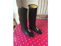 Long toggi horse riding boots size 5 (adult size)