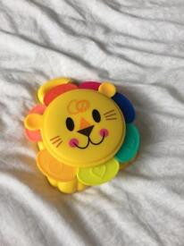 Lion baby stacking toy