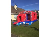 Brand new bouncy castles and castle combos for sale