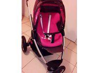 Maxi-Cosi Mura 3 Pushchair Buggy + VTech Baby First Steps Baby Walker
