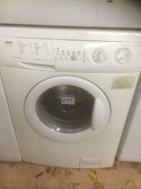 Zanussi aqua cycle washing machine £99