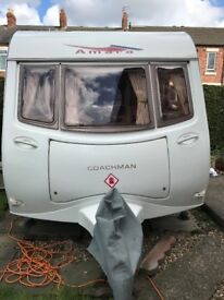 2004 Coachman Amara 380-2 caravan with 2 awnings plus extras. Pics don't do it justice