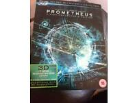 Prometheus Blu Ray plus 3D