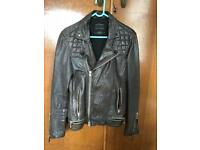 All Saints leather jacket