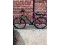 """B'TWIN ROCKRIDER 560 27.5"""" BLACK Mens Mountain Bike Size M"""