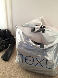 2 bags of size 10 clothes