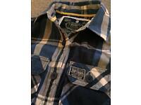 Superdry ladies check shirt