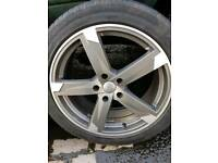 Vauxhall insignia 19inch alloys set of4