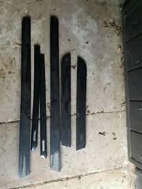 Audi a4 2003 door strips black