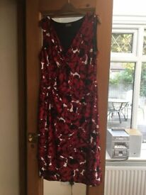 Phase 8 red dress size 16