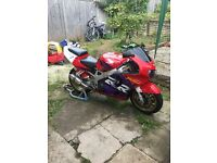 Cbr fireblade rr swap for van