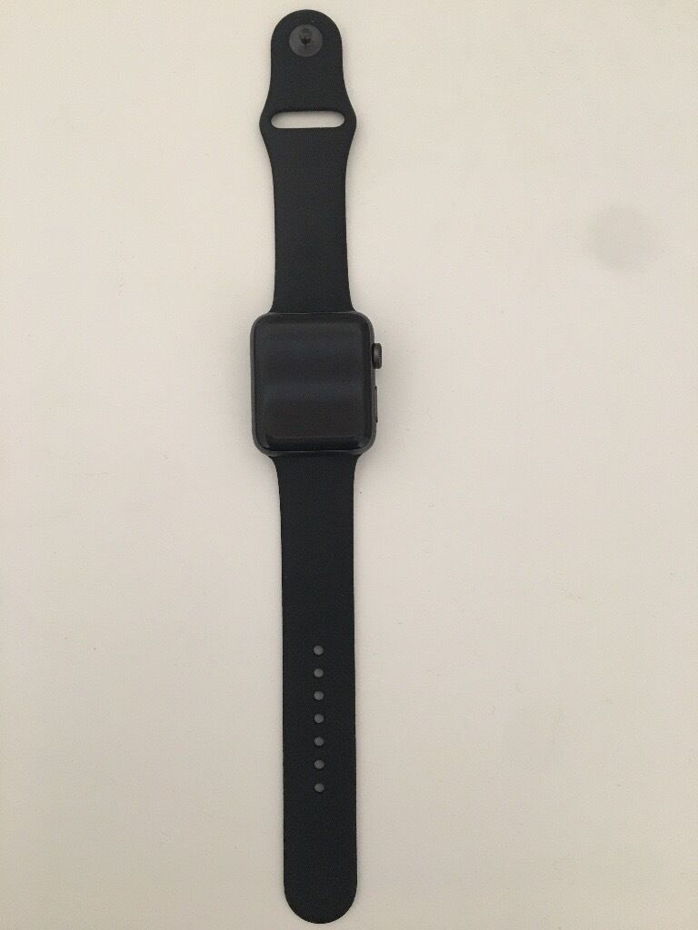 Apple Watch 2, 42mmin Hillhead, GlasgowGumtree - Apple Watch series 2, 42mm Space grey, aluminium case Hardly used and in nearly new condition. 2 strap sizes and original box