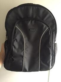 """Targus Essential 15.4-16"""" Laptop Backpack - Black/Grey"""