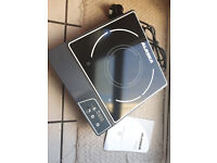 Counter top induction hot plate, hob. Single ring