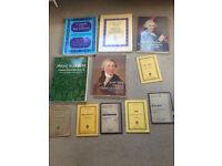 Music scores: classic chamber music works
