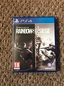 Tom clancys rainbow six: siege (PS4)