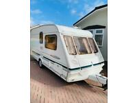 Abbey freestyle 2 berth end washroom caravan