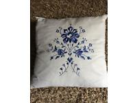 "Bedeck Cushion. 12"" square approx."
