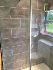 WORK WANTED , plumbing and tiling