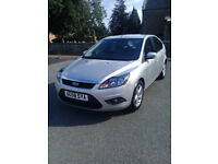 FOCUS 1.6 ZETEC 100. 58reg LOW MILAGE.JUST BEEN SERVICED.NICE CAR