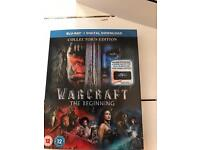 WARCRAFT the beginning BLU RAY £8