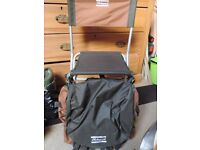 SHAKESPEARE FISHING STOOL RUCKSACK WITH BACK REST
