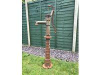 Garden Ornamental Hand Pump Cast Iron