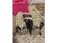 Orla Kiely double pannier bag - used