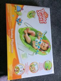 Bright Start Vibrating Baby Bouncer £10