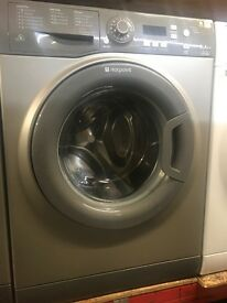 9KG SILVER HOTPOINT WASHING MACHINE
