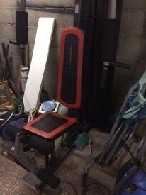 Weider weight bench Gym equipment