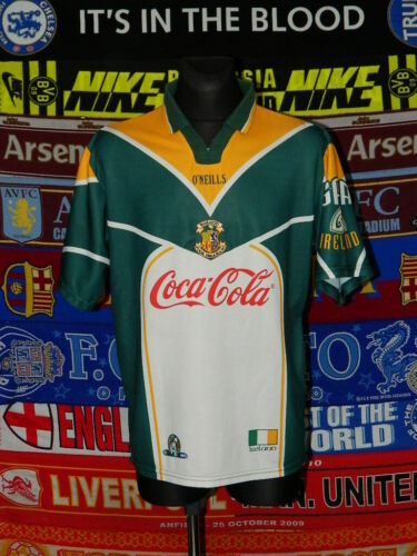 4.5/5 Ireland GAA adults L 2001 AFL gaelic football shirt jersey trikot