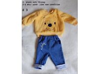 Excellent condition, mostly NEWBORN BOY clothes/ OVER 40 items