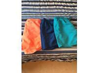 3x Swim Shorts Medium - £5 for All 3