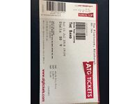 2 x Tickets for The Band, Edinburgh Playhouse, 1930hrs Saturday 14th July 2018