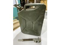 1976 army jerry can complete with spout