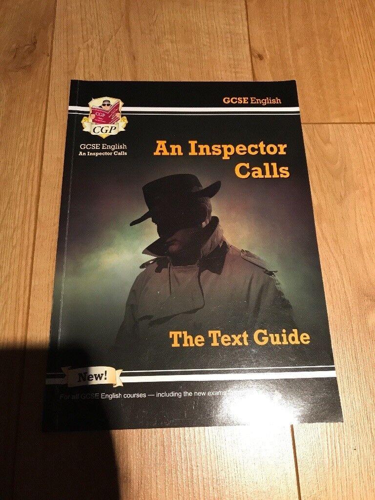 GCSE English an inspector calls guide.