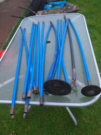 Selection of Plumbers Drain Rods. £8