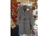 Coat for sale hardly worn. Size UK 8 marks and Spencer's