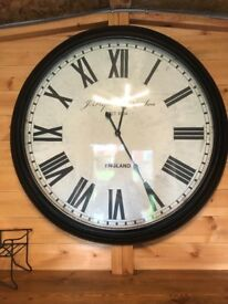 Very large solid next clock