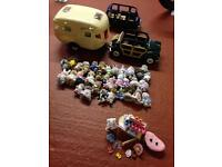 Sylvanian family and accessories