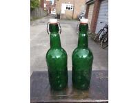 2 x 1.5L grolsch bottles