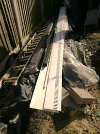 Fascia and soffit 5 metres