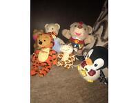 Small bundle cuddly toys